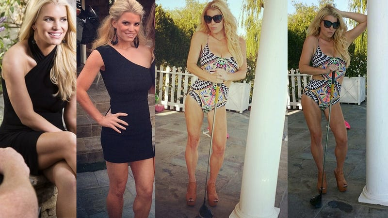 You'll Never Guess What's Wrong With Jessica Simpson's Body Now
