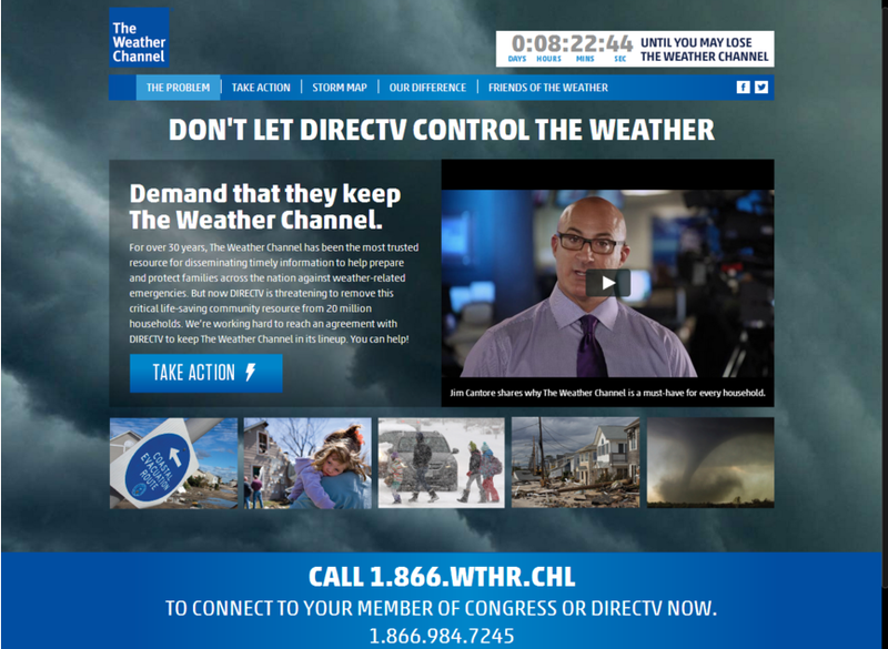 Weather Channel Returning to DirecTV, Apologizes for Ugly Fight