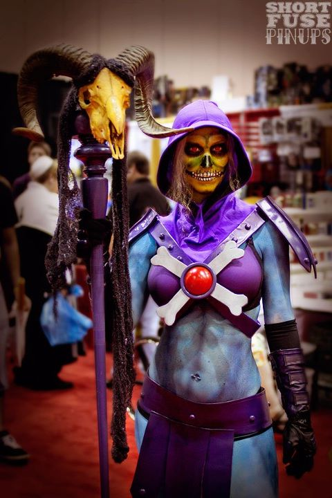 Meet Female Skeletor, the presumed arch-nemesis of She-Man