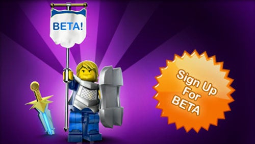 Sign-Up For The LEGO Universe Beta