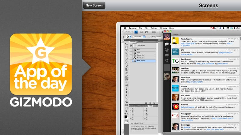 App of the Day: Screens for iPad and iPhone