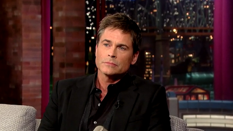 Rob Lowe Is Leaving Parks and Rec Because 'Amy Poehler Is a Prick'