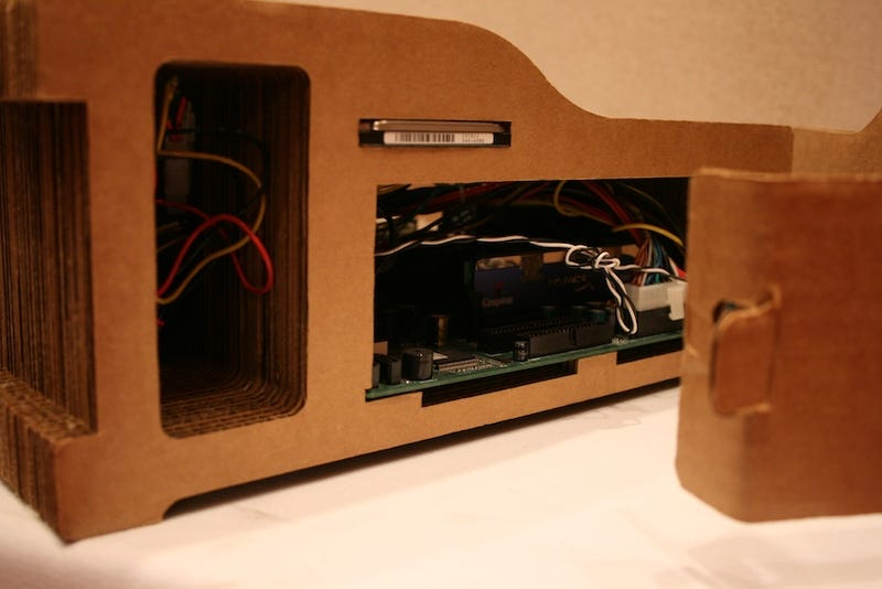 Inside the Recompute Cardboard PC