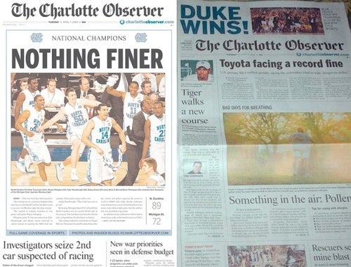 Welcome Back, Duke Persecution Complex