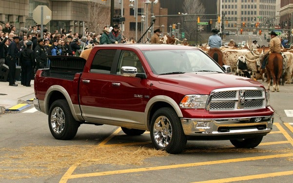 Chrysler Kills Diesel Engines For Dodge Ram 1500 Pickups