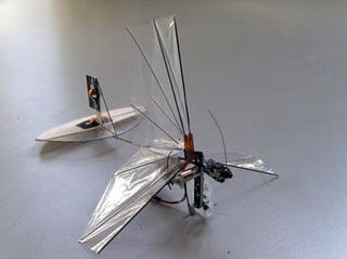 DelFly Micro Dragonfly Is Smallest Creepy Autonomous Spybot Yet