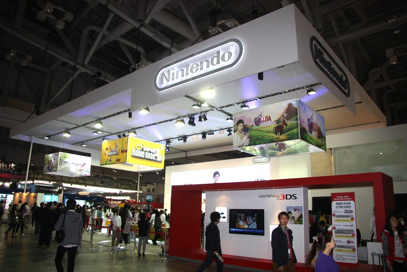 In South Korea, This Nintendo Booth Shows How Far the Company Has Come