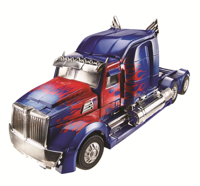First look at Transformers 4's Optimus Prime and more cool toy reveals