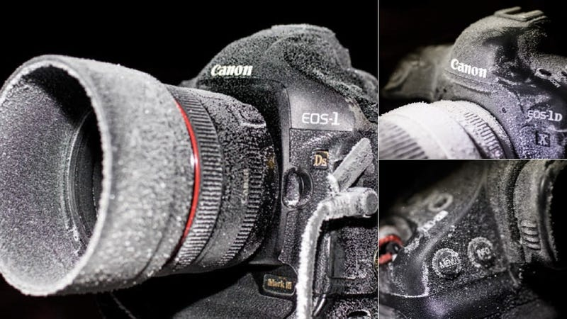 When DSLR Manufacturers Say Their Cameras Are Freeze-Proofed, This Is What They Mean