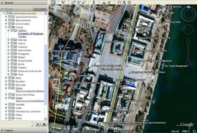 North Korea Secrets Uncovered In Google Earth by Amateur Spies