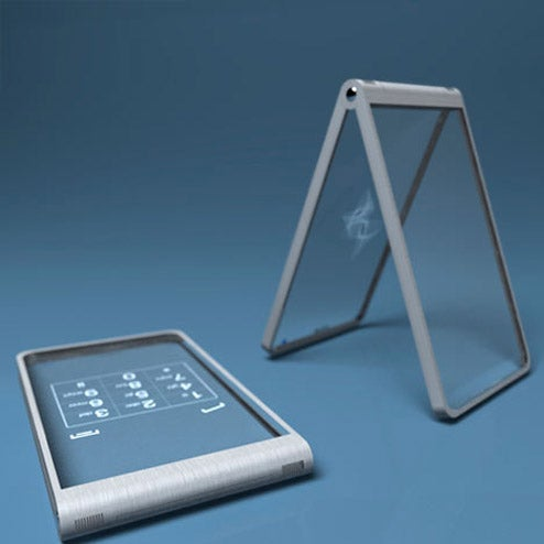 Cellphone Concept Has a Sweet Looking Glass
