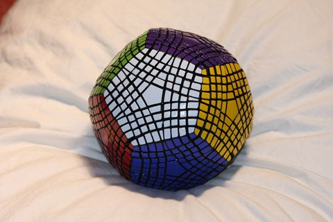 The Petaminx: A Mind-Boggling, Satan-Loving Homemade Dodecahedral Puzzle
