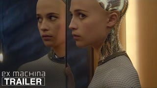 <i>Ex Machina</i> Trailer Is A Love Triangle Between Two Men And A Robot