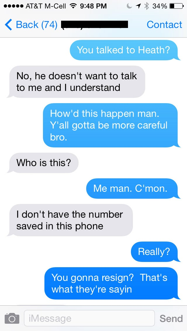 """Kissy Congressman Confesses to Texting Stranger: """"I Messed Up"""""""