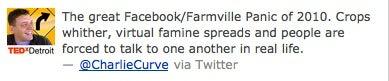 Facebook Malfunction Spawns FarmVille Panic, Schadenfreude