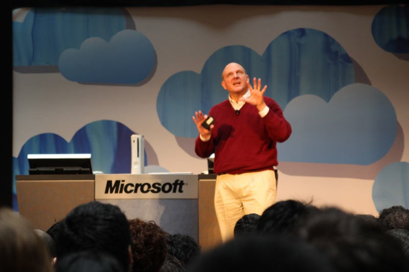 Ballmer Explains the Cloud, In 5 Easy Steps
