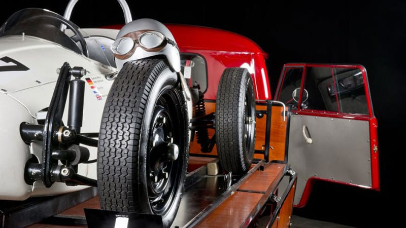 Vintage Formula Vee Car And VW Carrier Will Make Your Desire Gland Pop