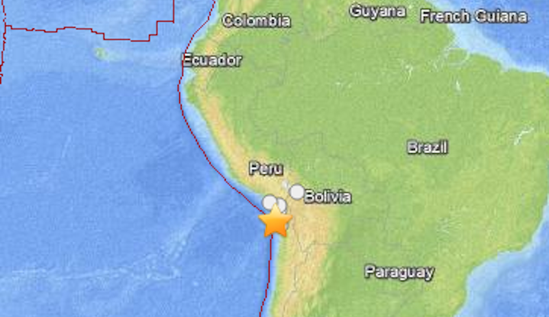 Powerful Earthquake Off the Coast of Chile Triggers a Tsunami