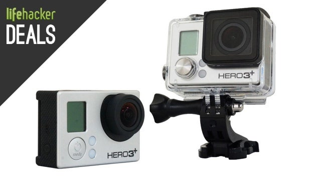 GoPro Hero3+ Silver, Two 4K Monitors, iTunes Credit [Deals]