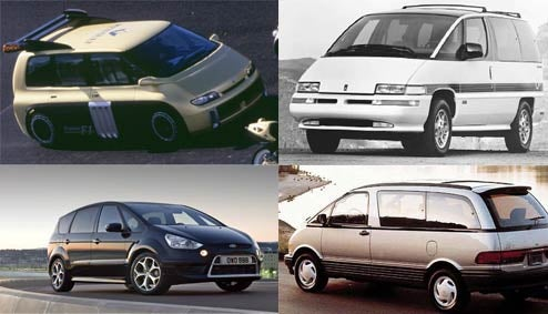 The Ten Greatest Minivans Of All Time