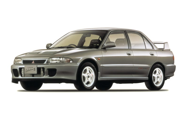 Look How Awesome Mitsubishi's Lineup Was 20 Years Ago