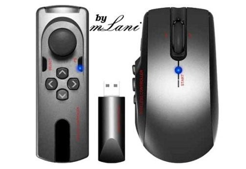 mLani MoBi Fuses Mouse with PS3 Controller