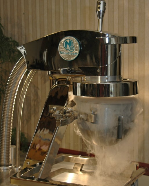 Make Perfect Ice Cream with the $35,000 NitroCream N2-G4