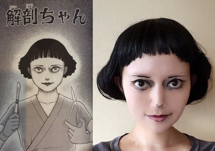 Recreating Horror Manga In The Flesh