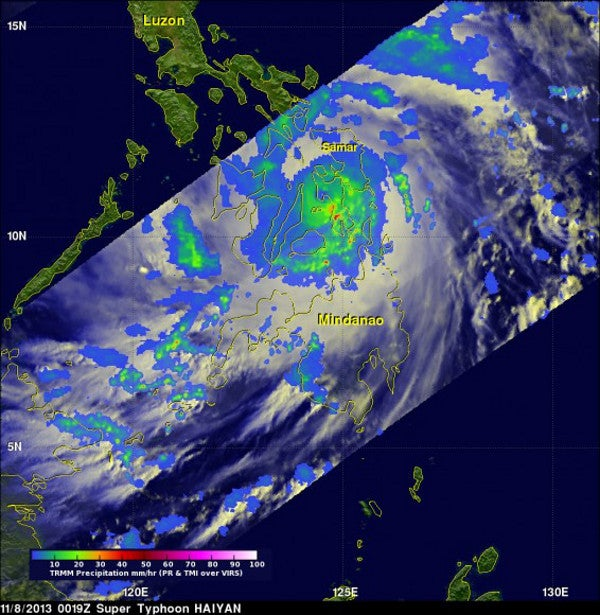 Skeptical climate blog shamefully downplays Super Typhoon Haiyan