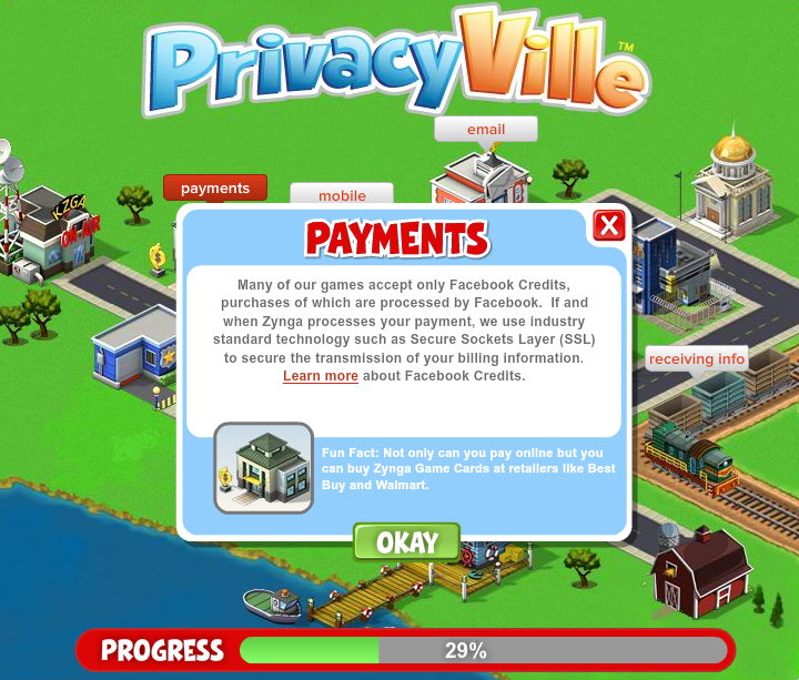Privacy is a Game for Zynga