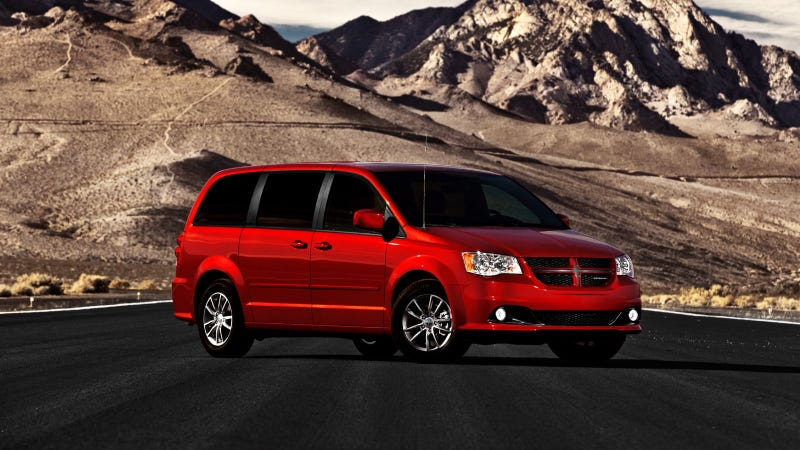 "Dodge's ""Man Van"" is the aggressive minivan for road and track"