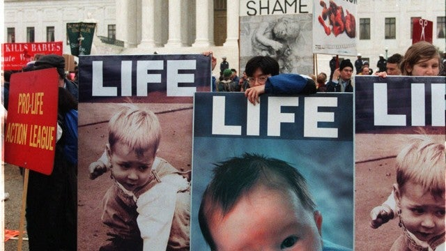 Super Classy Pro-Life Group Pickets Pro-Choice Politician's Church