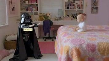 Mini Darth Vader Makes First Super Bowl Ad A Hit