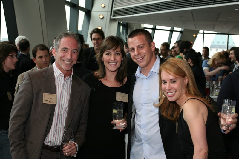 Founders Club partiers revel in the view from the top