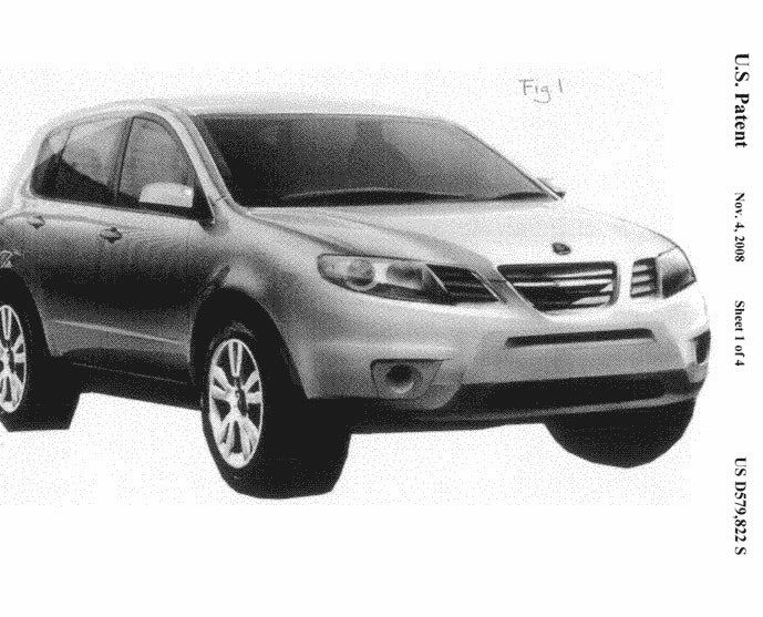 GM Files Patents For Tribeca-Based Saab 9-6X, Tale Of The Saaburu Maybe Not Complete