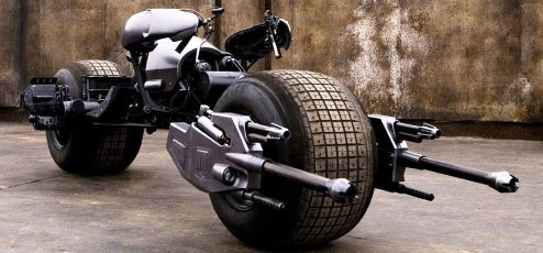 Bat-Pod Is Product Of Chris Nolan's Monster Garage
