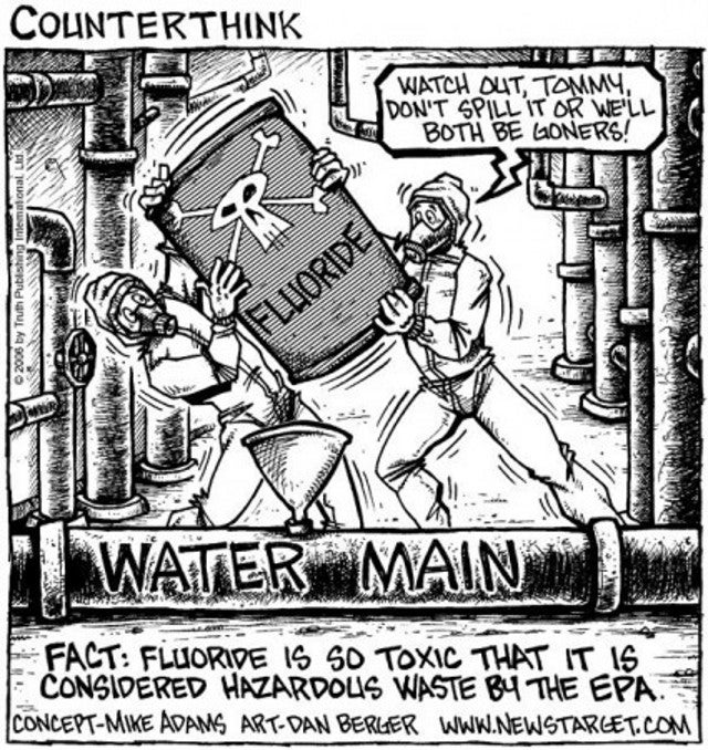 Portland voters reject fluoridation for the fourth time