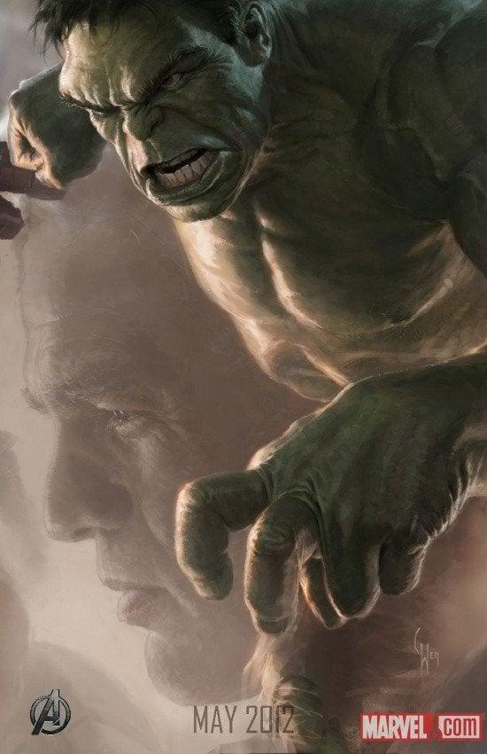 Marvel releases first concept art for The Avengers' Hulk!