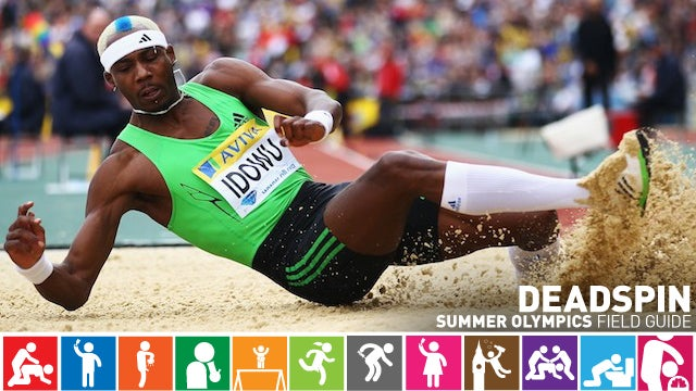 Olympics Field Guide: Phillips Idowu, The Dennis Rodman Of The Triple Jump