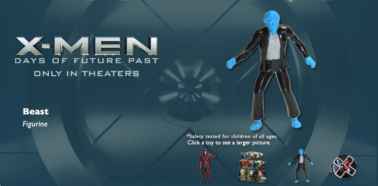 Here Are The X-Men Days Of Future Past Kids Meal Toys