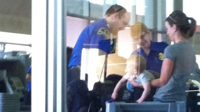 Baby's First TSA Patdown