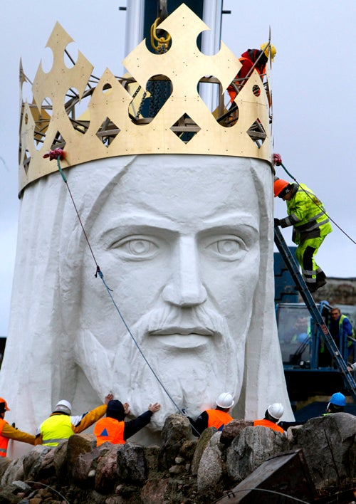 World's Biggest Jesus Statue Is Finally Complete