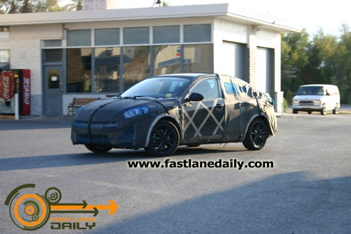 2010 Mazda2 Sedan Testing In Death Valley?