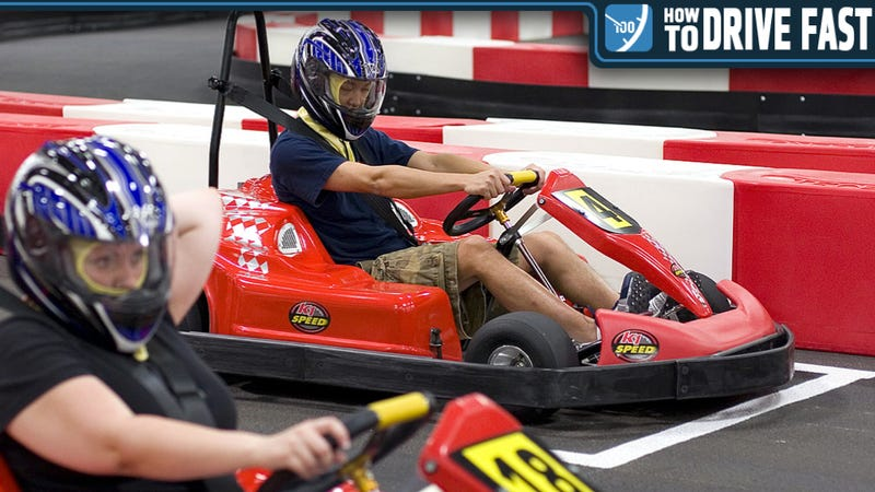 How To Be The Fastest Motherfucker At The Go-Kart Track