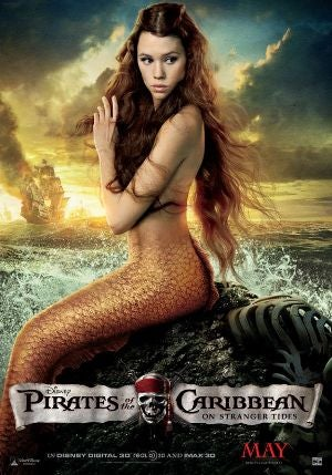 Àstrid Bergès-Frisbey uses her mermaid wiles in the new Pirates of the Caribbean movie