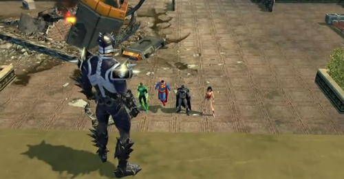 New DC Universe Online trailer pits players against the Justice League