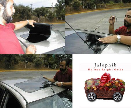 The Jalopnik Holiday Re-Gift Guide: The Decano Fake Sunroof
