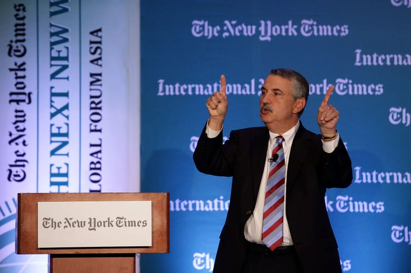 Thomas Friedman Assures You He Knows About Important Stuff