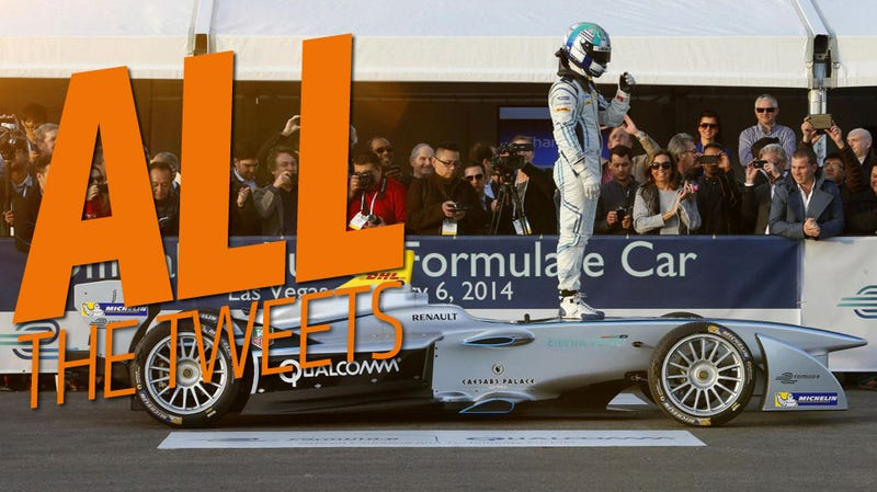 Your Tweet Could Help Win A Formula E Race