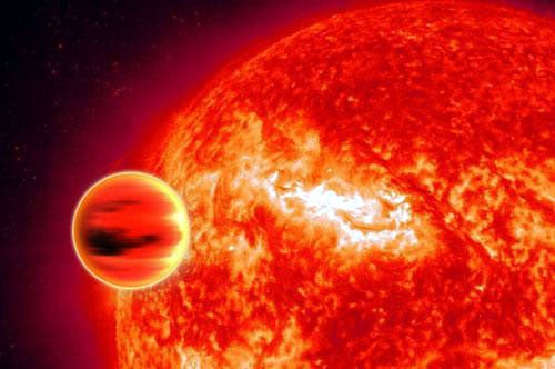 Boiling-Hot Planet Has Building Blocks Of Life